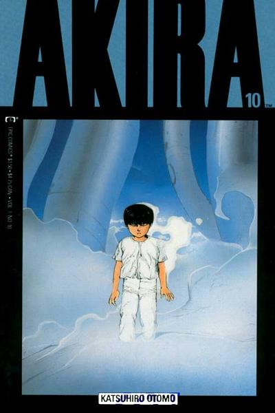 Cover for Akira (Marvel, 1988 series) #10