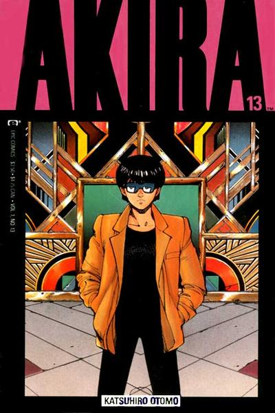 Cover for Akira (Marvel, 1988 series) #13