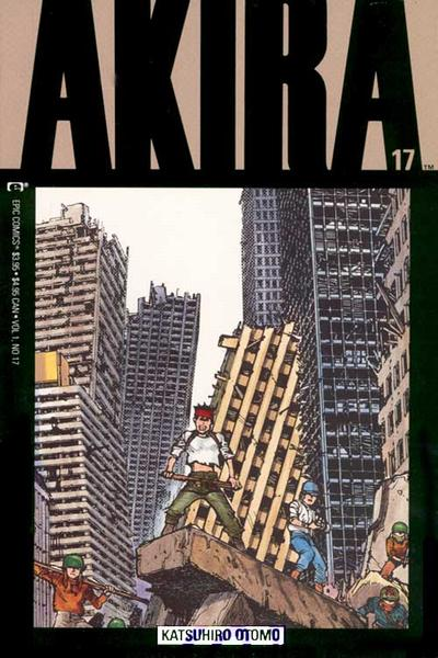 Cover for Akira (Marvel, 1988 series) #17