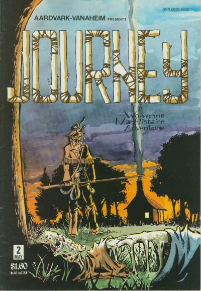 Cover for Journey (1983 series) #2