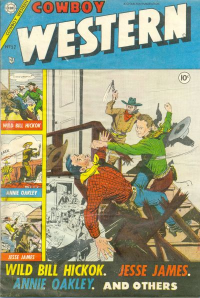 Cover for Cowboy Western (Charlton, 1954 series) #52