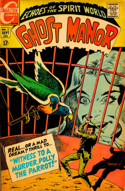 Cover for Ghost Manor (1968 series) #2