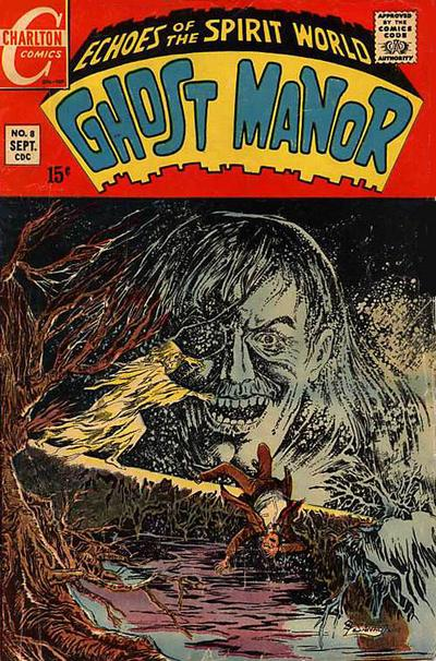 Cover for Ghost Manor (Charlton, 1968 series) #8