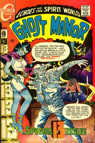 Cover for Ghost Manor (1968 series) #13