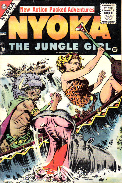 Cover for Nyoka the Jungle Girl (Charlton, 1955 series) #16