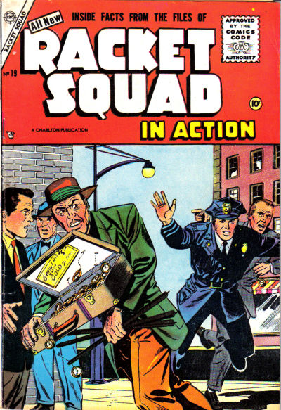 Cover for Racket Squad in Action (Charlton, 1952 series) #19