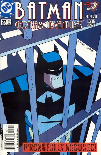 Cover for Batman: Gotham Adventures (DC, 1998 series) #27