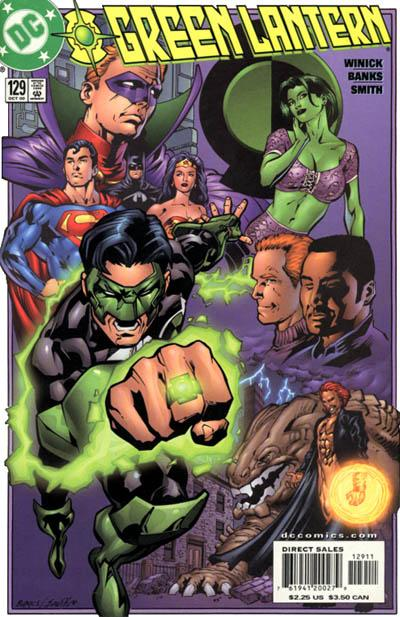 Cover for Green Lantern (1990 series) #129