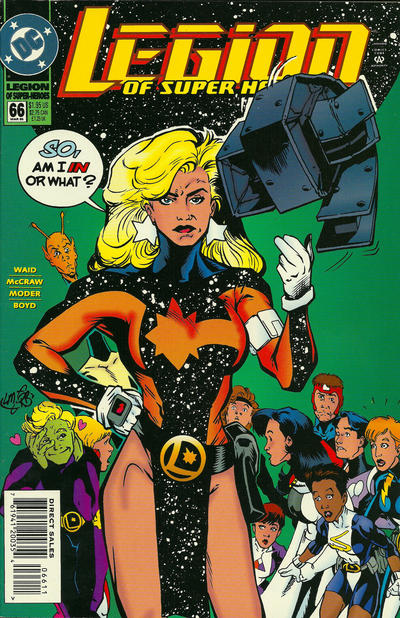 Cover for Legion of Super-Heroes (DC, 1989 series) #66