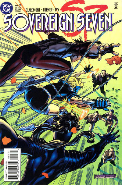 Cover for Sovereign Seven (DC, 1995 series) #7 [Direct Edition]
