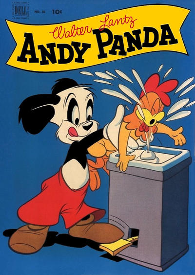 Cover for Andy Panda (1952 series) #16