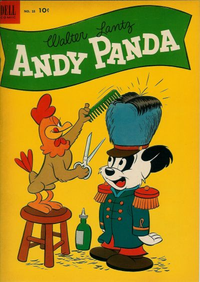 Cover for Walter Lantz Andy Panda (Dell, 1952 series) #18