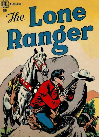 Cover for The Lone Ranger (Dell, 1948 series) #2