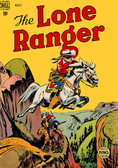 Cover for The Lone Ranger (Dell, 1948 series) #9