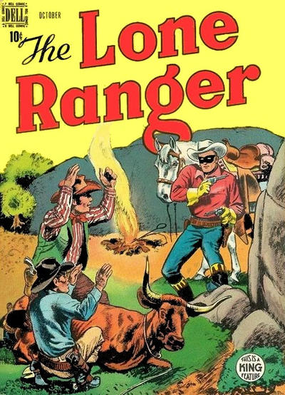 Cover for The Lone Ranger (Dell, 1948 series) #16