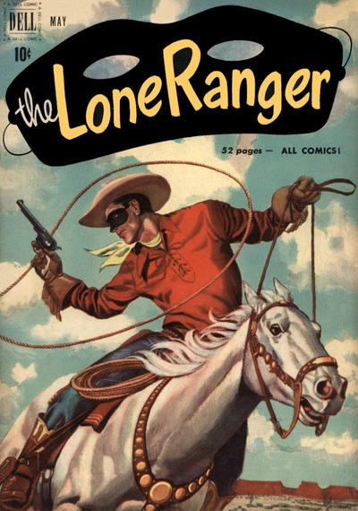 Cover for The Lone Ranger (Dell, 1948 series) #35