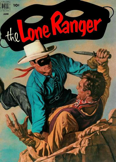 Cover for The Lone Ranger (Dell, 1948 series) #48