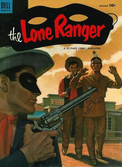Cover for The Lone Ranger (Dell, 1948 series) #63