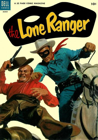 Cover for The Lone Ranger (Dell, 1948 series) #69