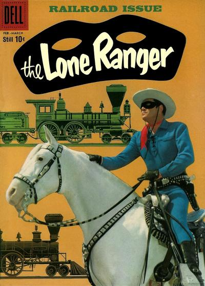 Cover for The Lone Ranger (Dell, 1948 series) #126