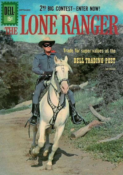 Cover for The Lone Ranger (Dell, 1948 series) #141