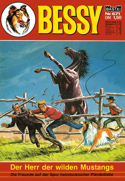 Cover for Bessy (1965 series) #671