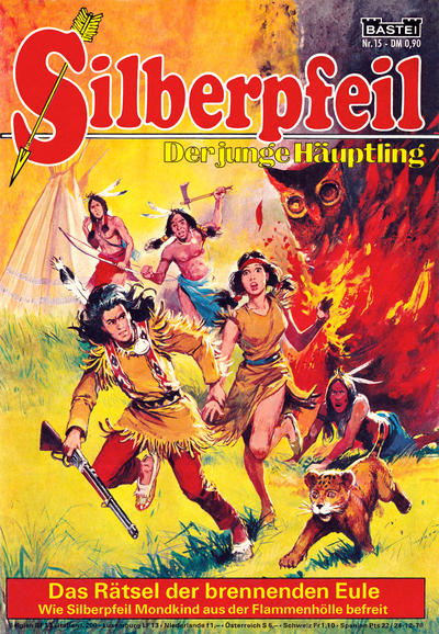 Cover for Silberpfeil (1970 series) #15