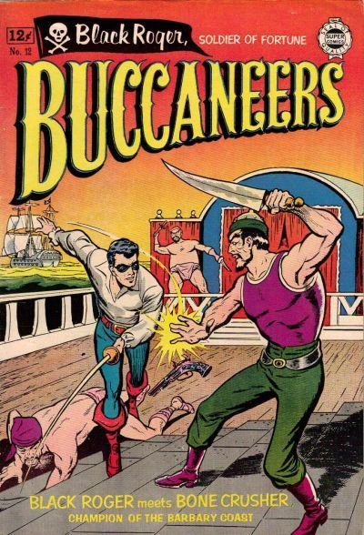 Cover for Buccaneers (1963 series) #12