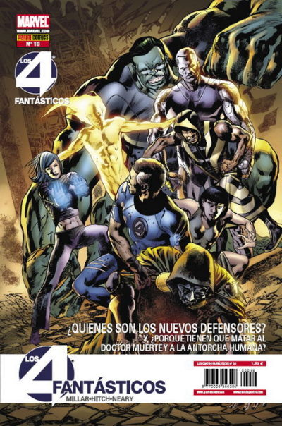 Cover for Los 4 Fantásticos (2008 series) #16