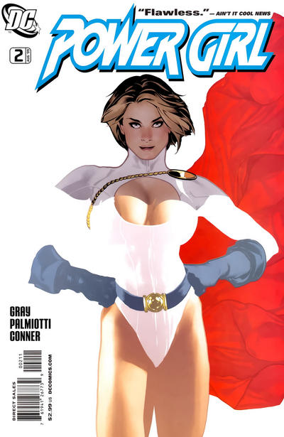 Cover for Power Girl (DC, 2009 series) #2 [Hughes Variant]
