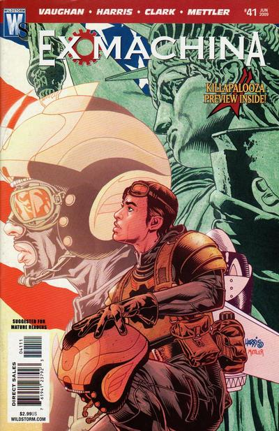 Cover for Ex Machina (2004 series) #41