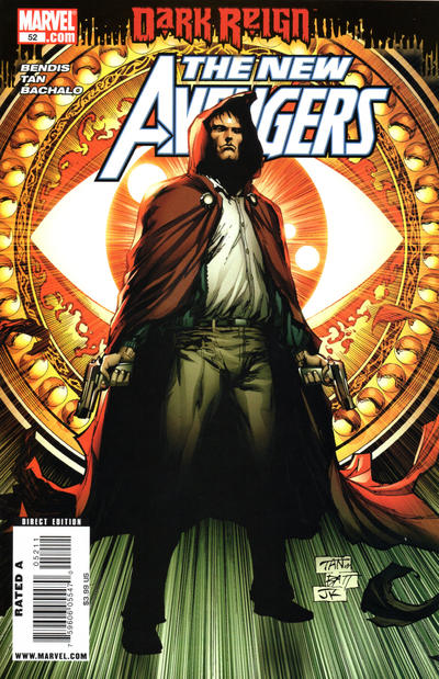 Cover for New Avengers (Marvel, 2005 series) #52