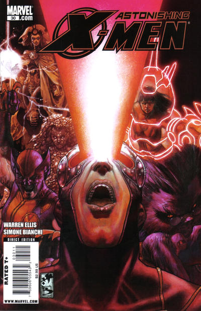 Cover for Astonishing X-Men (2004 series) #30