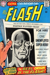 Cover for The Flash (1959 series) #167