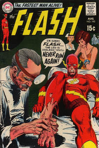 Cover Thumbnail for The Flash (DC, 1959 series) #190