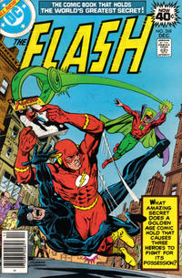 Cover for The Flash (DC, 1959 series) #268 [Whitman Variant]