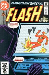 Cover for The Flash (DC, 1959 series) #304 [direct]