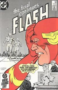 Cover Thumbnail for The Flash (DC, 1959 series) #344 [Direct Sales Variant]