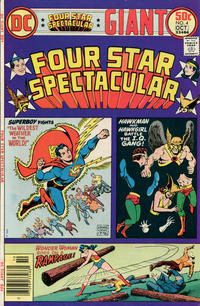 Cover Thumbnail for Four Star Spectacular (DC, 1976 series) #4