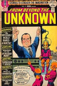 Cover Thumbnail for From Beyond the Unknown (DC, 1969 series) #17