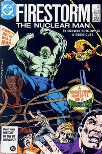 Cover Thumbnail for The Fury of Firestorm (DC, 1982 series) #51 [Direct]