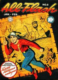 Cover Thumbnail for All-Flash (DC, 1941 series) #8