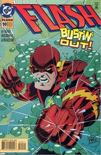 Cover for Flash (1987 series) #90 [DC Universe Corner Box]