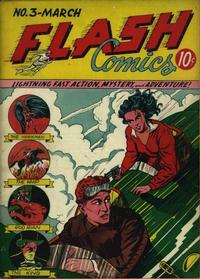 Cover Thumbnail for Flash Comics (DC, 1940 series) #3