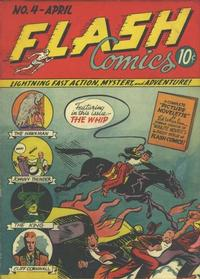 Cover Thumbnail for Flash Comics (DC, 1940 series) #4