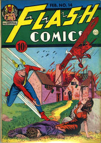 Cover Thumbnail for Flash Comics (DC, 1940 series) #14