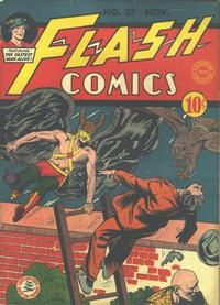 Cover Thumbnail for Flash Comics (DC, 1940 series) #23