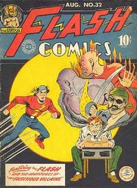 Cover Thumbnail for Flash Comics (DC, 1940 series) #32