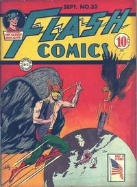 Cover Thumbnail for Flash Comics (DC, 1940 series) #33