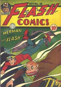 Cover Thumbnail for Flash Comics (DC, 1940 series) #58